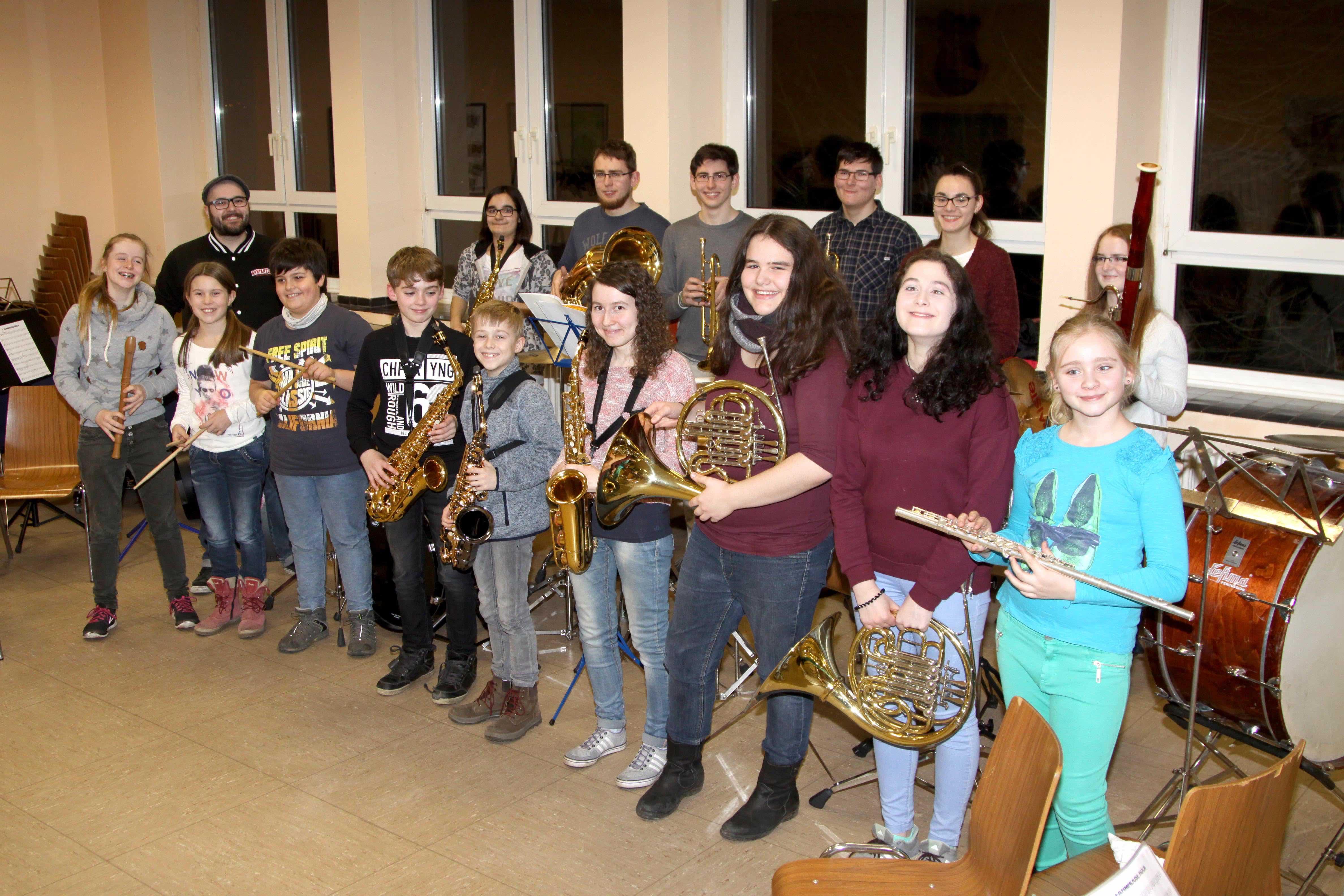 Jugendarbeit | Musikverein Wustweiler